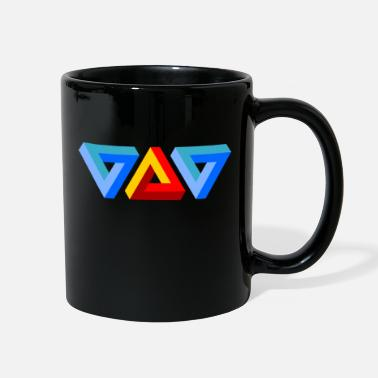 Triangle Triangles - Full Color Mug