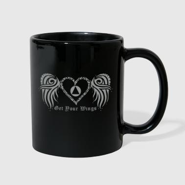GET YOUR WINGS EPS FILE - Full Color Mug