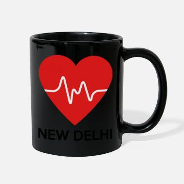New Delhi Heart New Delhi - Full Color Mug