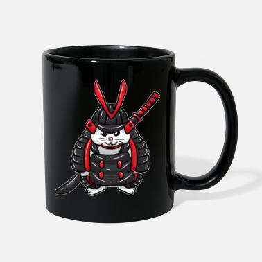 Geisha Cute Samurai Bunny Japanese - Full Color Mug