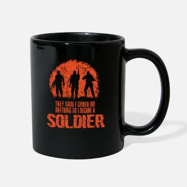 World War Army Camouflage Military Gift Idea - Full Color Mug