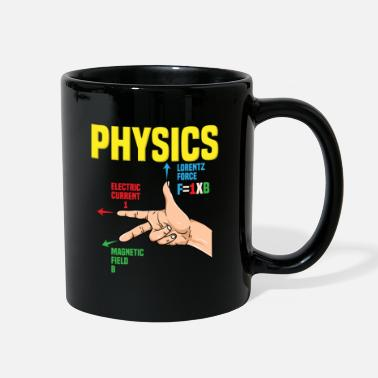 Gang Physics Gang Sign: Right Hand Rule - Full Color Mug