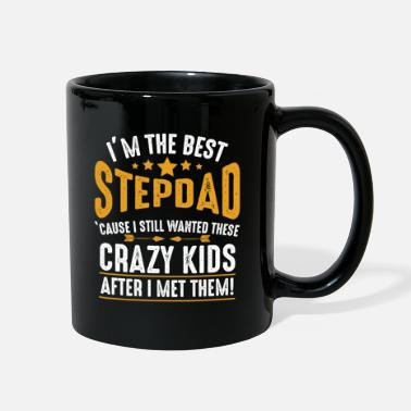 I'M The Best Stepdad Funny Family Birthday Fathers - Full Color Mug