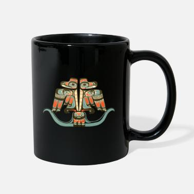 Native American Thunderbird Thunderbird Northwest Haida Native American Indian - Full Color Mug