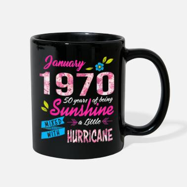 Teerich 51 Years old Sunshine January Made in 1970 - Full Color Mug