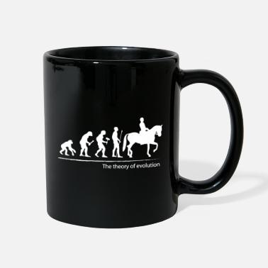 The theory of evolution (horse riding) - Full Color Mug