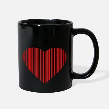 Pregnancy barcode love - Full Color Mug