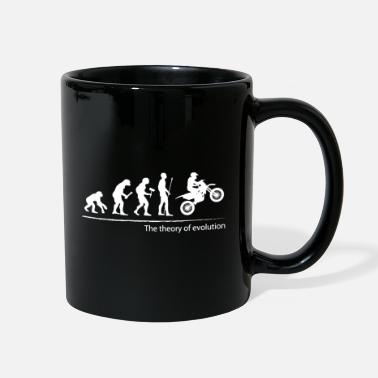 The theory of evolution (motocross) - Full Color Mug
