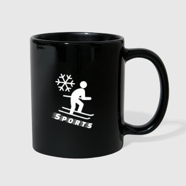 Sporty Sporty Ski - Full Color Mug