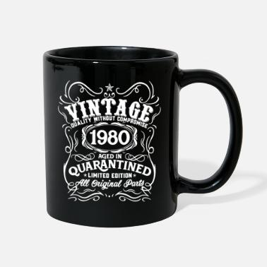 Birthday 40th Birthday Quarantine Shirt 40th Birthday - Full Color Mug