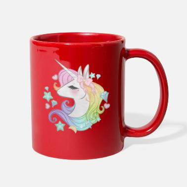 Cute Dabbing Unicorn - Full Color Mug