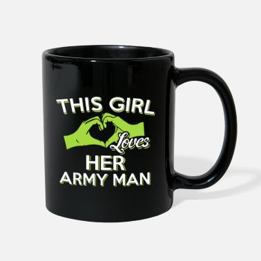 Army Man This Girl Loves Her Army Man - Full Color Mug