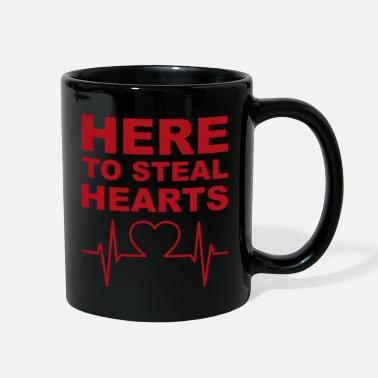 Steal hear to steal hearts red - Full Color Mug