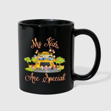 School bus driver My kids are special - Full Color Mug