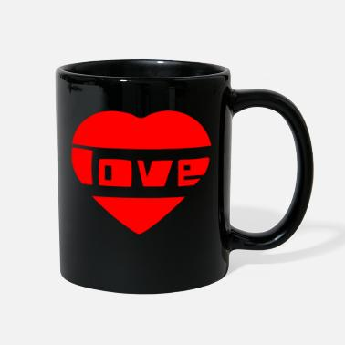 Love With Heart love with heart - Full Color Mug
