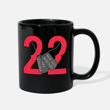 Marine 22 Veterans a day - Full Color Mug