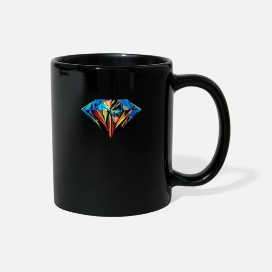 Cover Mugs & Drinkware - Diamond - Full Color Mug black