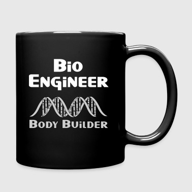 Body Builder White Text - Full Color Mug