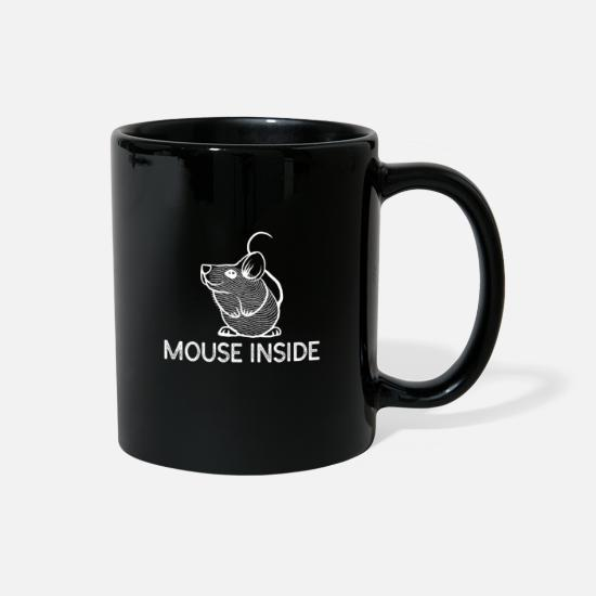 Gift Idea Mugs & Drinkware - Mouse - Full Color Mug black