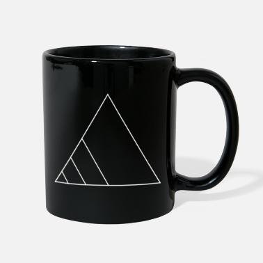 Triangle Triangle geometric gift hipster sign line figure - Full Color Mug