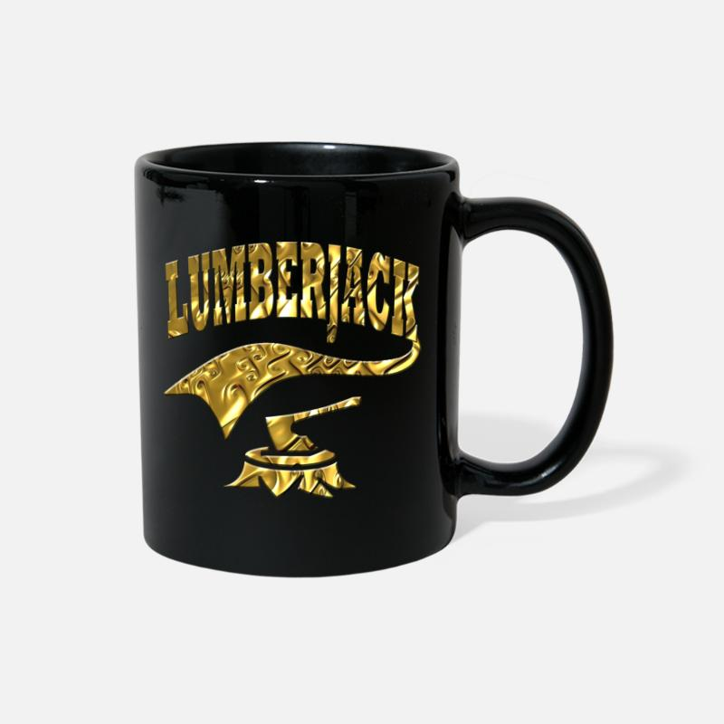 Gift Idea Mugs & Drinkware - Lumberjack - Full Color Mug black