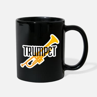 Girlfriend Trumpet player gift instrument trumpeter jazz band - Full Color Mug