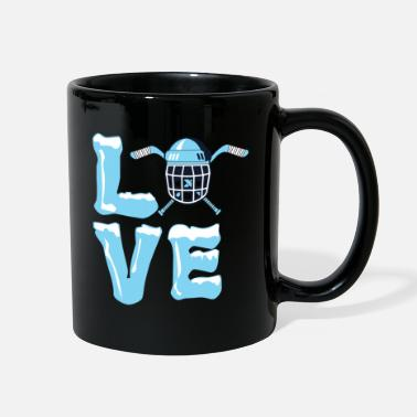 High School Graduate Hockey love - Full Color Mug