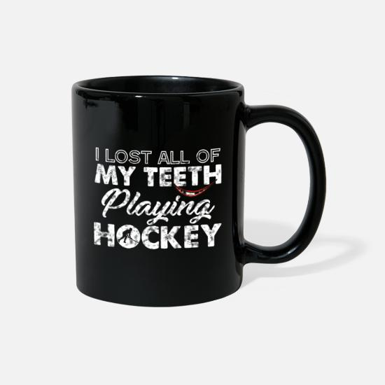 Hockey Mugs & Drinkware - Hockey Ice Hockey stick Sports - Full Color Mug black