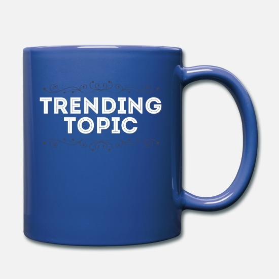 Development Mugs & Drinkware - Trend Trending Topic Cool Gift - Full Color Mug royal blue
