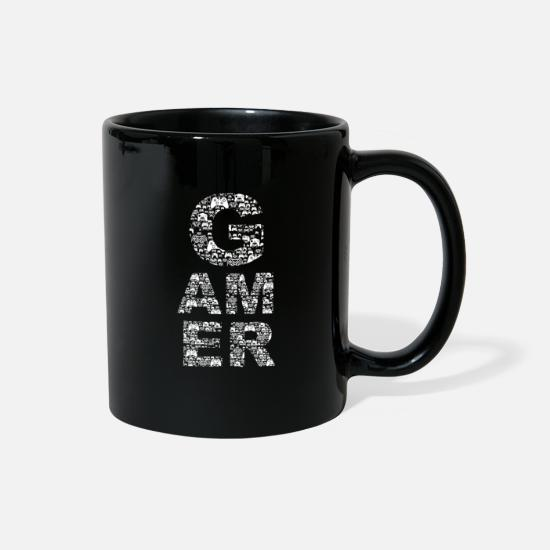 Gamer Mugs & Drinkware - Gamer - Full Color Mug black
