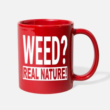 4/20 420 Funny Weed Ganja Cannabis Gift Real Natur - Full Color Mug