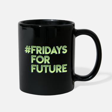 Strike Fridays for Future Climate change Gift earth - Full Color Mug