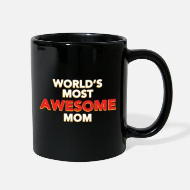 Mother Earth Awesome Mom Mothers day Mom holiday gift - Full Color Mug