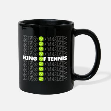 Funny Tennis King of Tennis - Full Color Mug