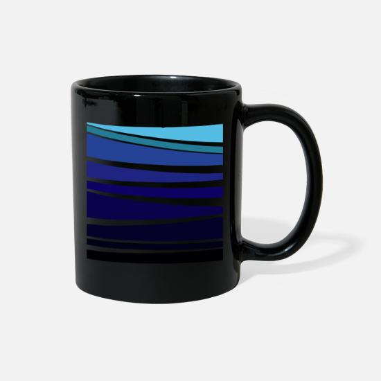 Gift Idea Mugs & Drinkware - MINIMAL SEA - Full Color Mug black