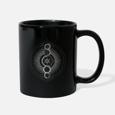 Container Sacred Geometry Metatron's Cube Transcendence - Full Color Mug