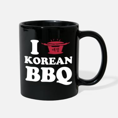 Korean I Love Korean BBQ - Full Color Mug
