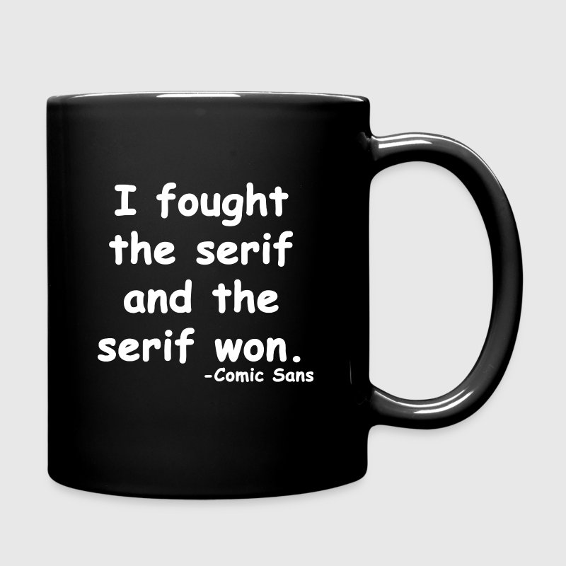 Comic Sans - Full Color Mug