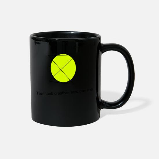 Meme Mugs & Drinkware - creation - Full Color Mug black