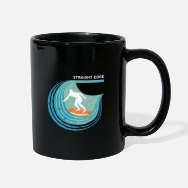 Straight Edge Straight Edge Surfer (dark background) - Full Color Mug