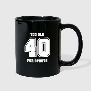 40th birthday - Full Color Mug