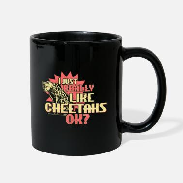 Fast Cheetah Safari Gift - Full Color Mug