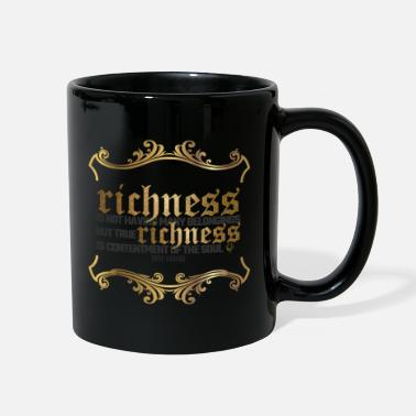 Islam True Richness Islamic Quotes - Full Color Mug