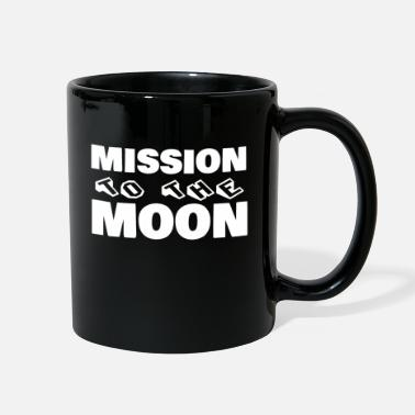 To The Moon Mission to the Moon - Full Color Mug