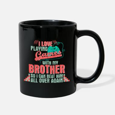 Brother Brother gaming gift - Full Color Mug