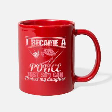 Daughter In Law Police mother - Full Color Mug