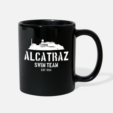 Est 1934 Alcatraz Swim Team est 1934 California Prison Jail - Full Color Mug
