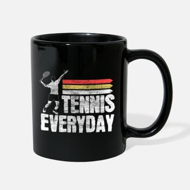 Tennis Tennis tennis player fitness Gift - Full Color Mug