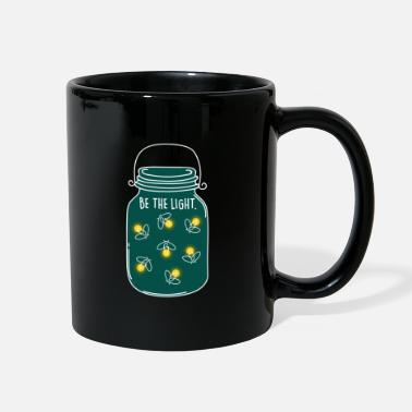 Moon Be the Light! Camping Nature Fireflies Summer - Full Color Mug