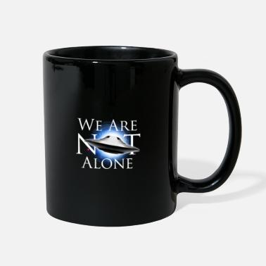 Ufo UFO We Are Not Alone - Full Color Mug